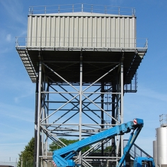 The professional structural appraisal of water tower and design of a new access staircase.