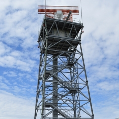 The professional structural appraisal of tower supporting a radar antenna.