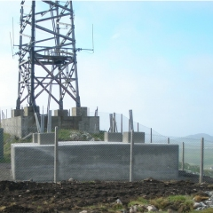 Designer for towers and foundations in a remote hilltop location.